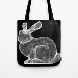 DELAUNAY BUNNY B/W Tote Bag