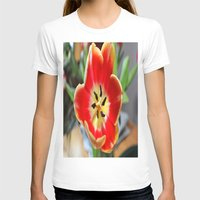 tulips T-shirts featuring tulips by  Agostino Lo Coco