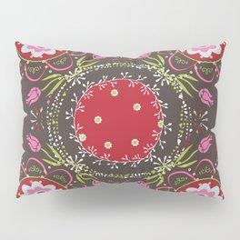 Beautiful Floral Mandala Pillow Sham