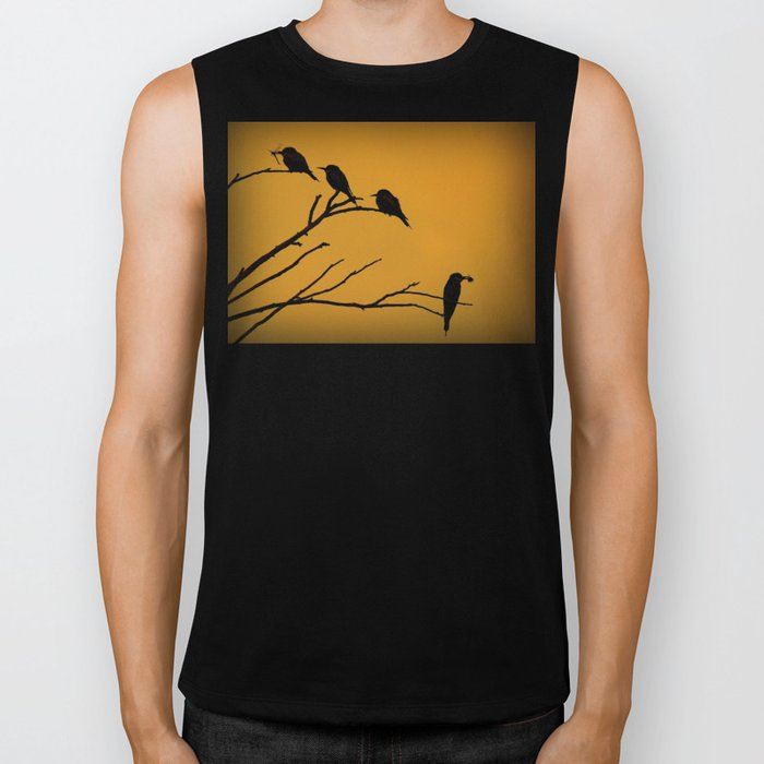 European Bee-Eater Birds Biker Tank