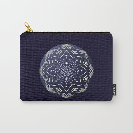Wedgewood Sphere Mandala Carry-All Pouch
