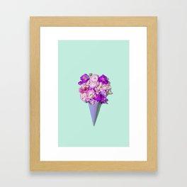 Flower Flurry II Framed Art Print