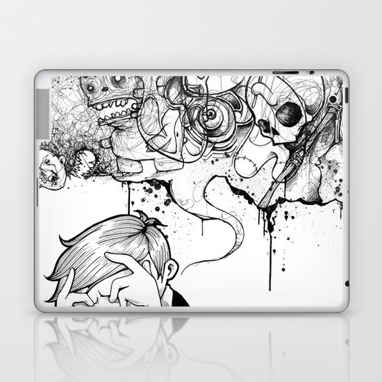 A Heavy Heart Laptop & iPad Skin