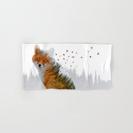 Wild I Shall Stay | Fox Hand & Bath Towel