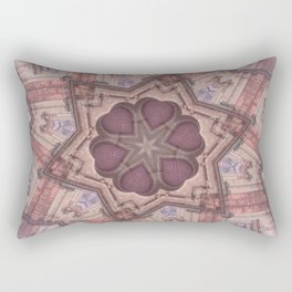 Hearts (from the Bom Jesus Church in Old Goa) Rectangular Pillow