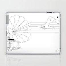 Swimming in Sound Laptop & iPad Skin