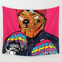 Shiba - The Hustler Wall Tapestry