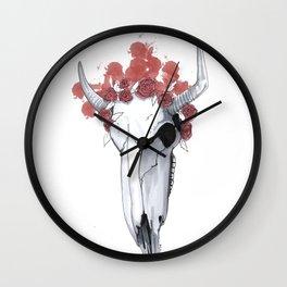 Dangerous Cowgirl Wall Clock