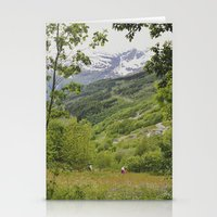 norway Stationery Cards featuring norway by anjastensrud