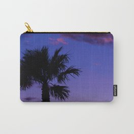 Palm Sunset - V Carry-All Pouch