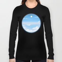 World Within Me - Blue Long Sleeve T-shirt