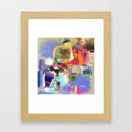 A Modest Wife Framed Art Print