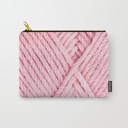 Pink Yarn Carry-All Pouch