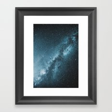 Galactic Core Framed Art Print