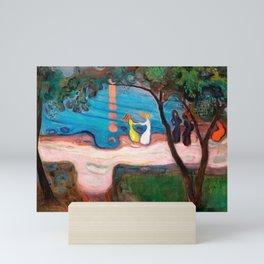 12,000pixel-500dpi - Edvard Munch - Dance on the Beach - Digital Remastered Edition Mini Art Print