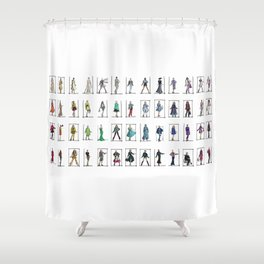 Fashion Rainbow Shower Curtain