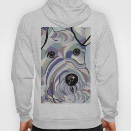 Wire Hair Terrier Denim Colors Hoody