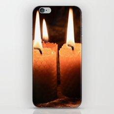 Light Your Way iPhone & iPod Skin