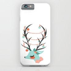 Retro Reindeer Slim Case iPhone 6s