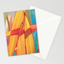 New Zealand Flax in Sunlight Stationery Cards