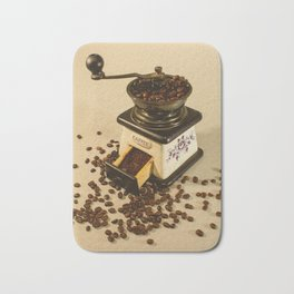 smell of coffee Bath Mat