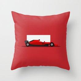 Racing Car Throw Pillow