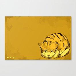 Good Meowning Canvas Print