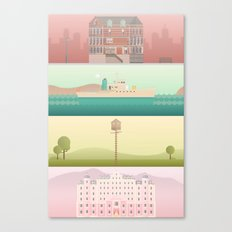 A Wes Anderson Collection Canvas Print