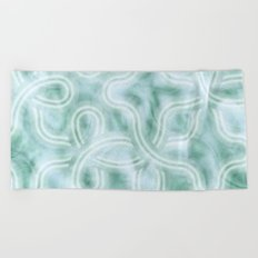 Knotty Abstract Beach Towel