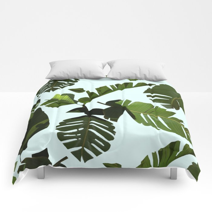 Palm Pattern Comforters