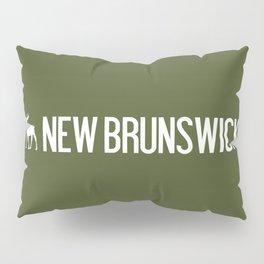 New Brunswick Moose Pillow Sham