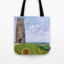 Summer spirit - Glastonbury Tor, Somerset, England Tote Bag