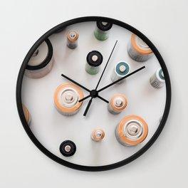 Energize 2 Wall Clock