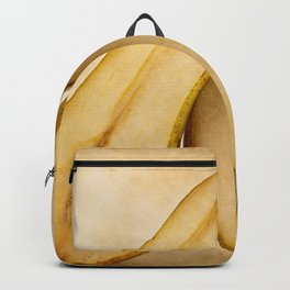 Thin And Plump Pear Fruit Halves. My Sweet And Perfect Half Backpack