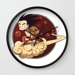 Son Goku & Kinto-Un Wall Clock