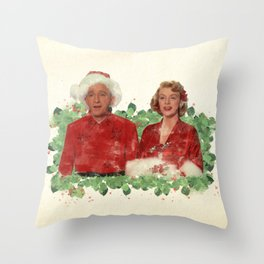 Bob & Betty (White Christmas) Throw Pillow