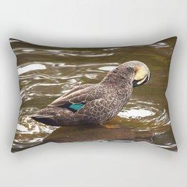 Mr. Blue Rectangular Pillow