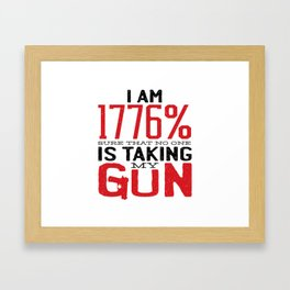 Guns & Second Amendment Framed Art Print