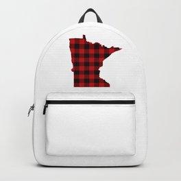 Minnesotans Love Flannel Backpack