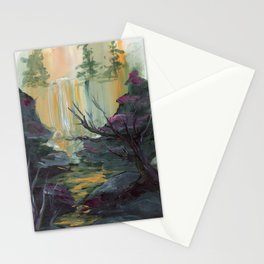 Waterfall Cliffs Stationery Cards