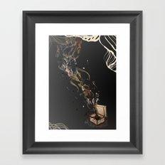 Chaos. Framed Art Print