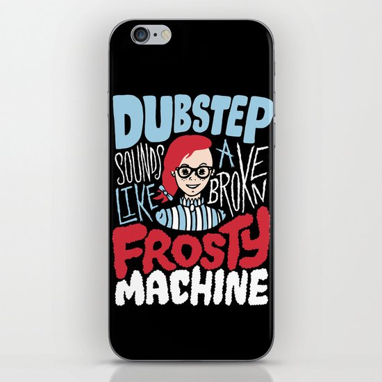 Frosty Dubstep iPhone & iPod Skin