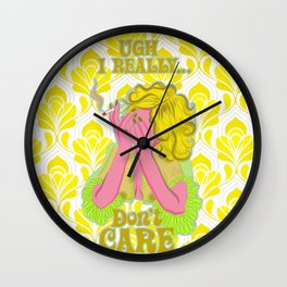 Don't Care Wall Clock