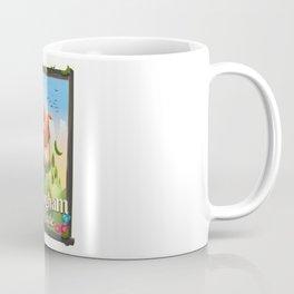 Nottingham Castle Travel poster Coffee Mug