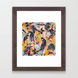 Paradise Birds II. Framed Art Print
