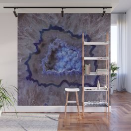 Quartz Inside Geode rustic decor Wall Mural