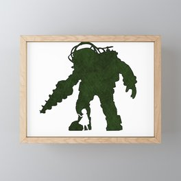 Bioshock - Big Daddy and sister Framed Mini Art Print