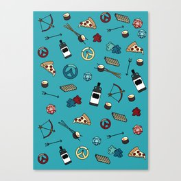 Scotts Favourite Things Canvas Print