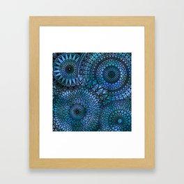 Shifting Currents - LaurensColour Framed Art Print