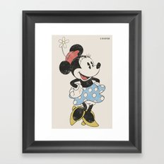 Minnie Mouse Framed Art Print